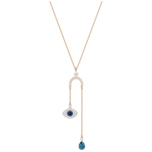 Naszyjnik SWAROVSKI - Duo All-Around Evil Eye Y 5425861