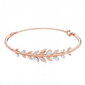 Bransoletka SWAROVSKI - Mayfly Bangle, Rose Gold 5410411 M