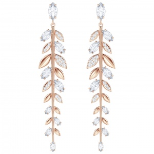 Kolczyki SWAROVSKI - Mayfly Long, Rose Gold 5410410