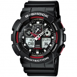 CASIO G-SHOCK GA-100-1A4ER