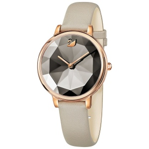Zegarek Swarovski Crystal Lake, Leather Strap, Rose Gold 5415996