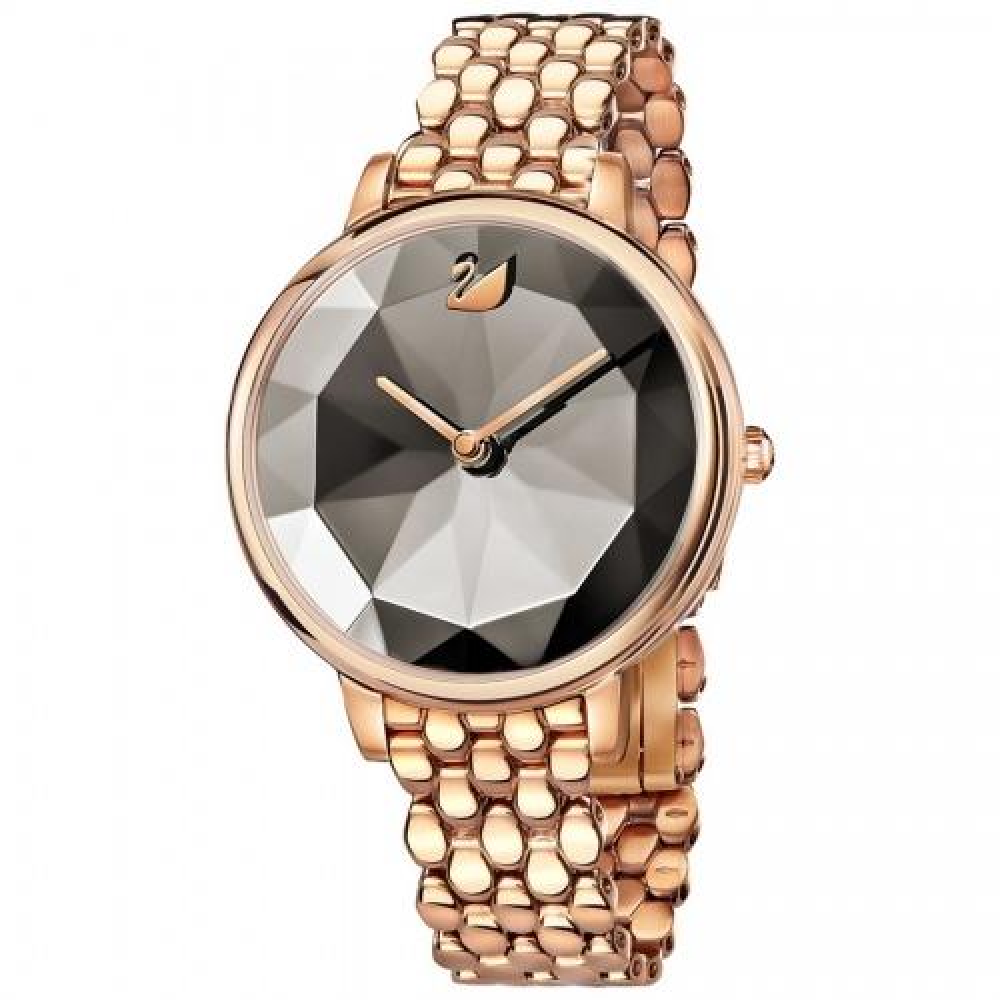 Zegarek Swarovski Crystal Lake, Metal Bracelet, Rose Gold 5416023