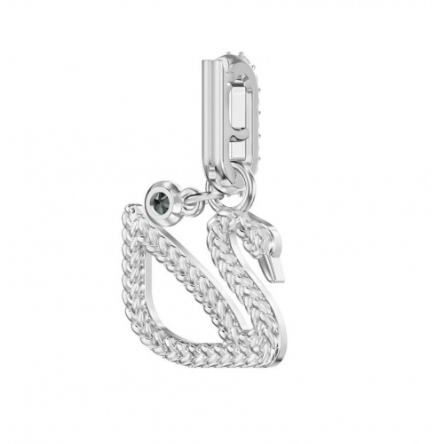 SWAROVSKI - Remix Collection Swan Charm, Silver 5443940