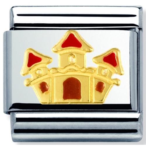 Nomination - Link 18K Gold 'Zamek' 030272/17