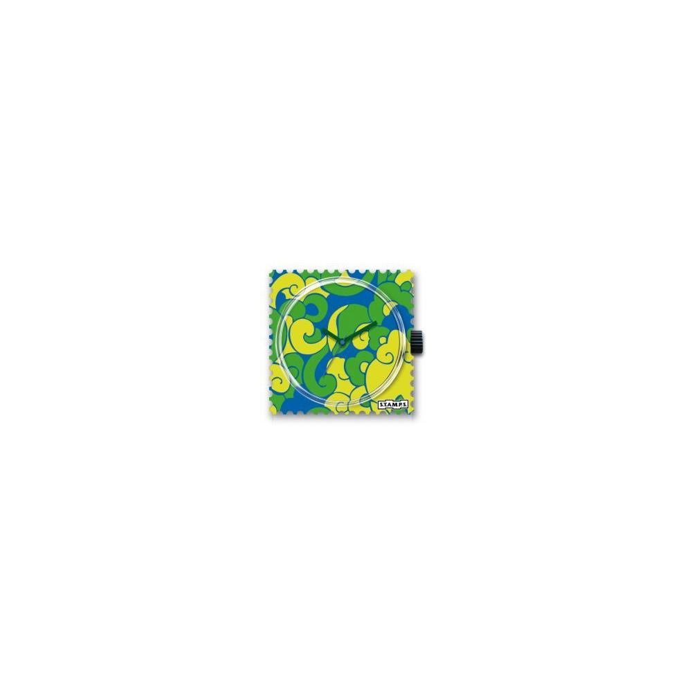 Zegarek STAMPS - Green Curls