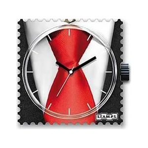 Zegarek STAMPS - Red Tie