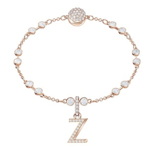 SWAROVSKI - Remix Collection Alphabet Z Charm, Rose Gold 5437627
