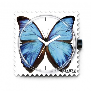 Zegarek STAMPS - Blue Butterfly