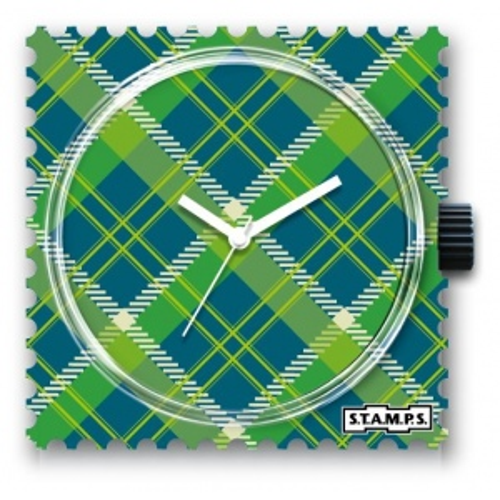 Zegarek STAMPS - Green Tartan