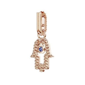 Zawieszka SWAROVSKI - Remix Collection Hamsa, Rose Gold 5434402