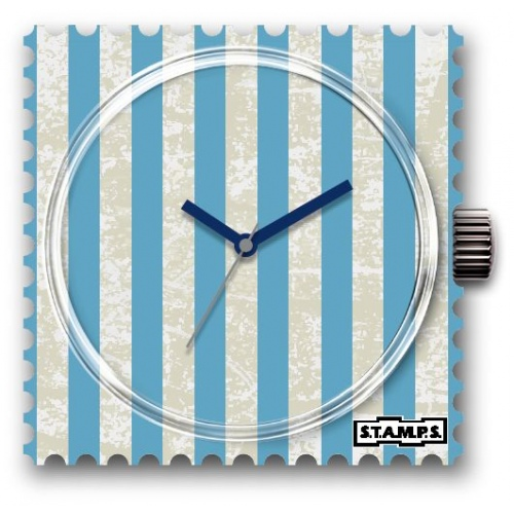 Zegarek STAMPS - Blue Lines