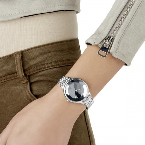 Zegarek Swarovski Crystal Lake, Metal Bracelet, Dark Gray 5416020