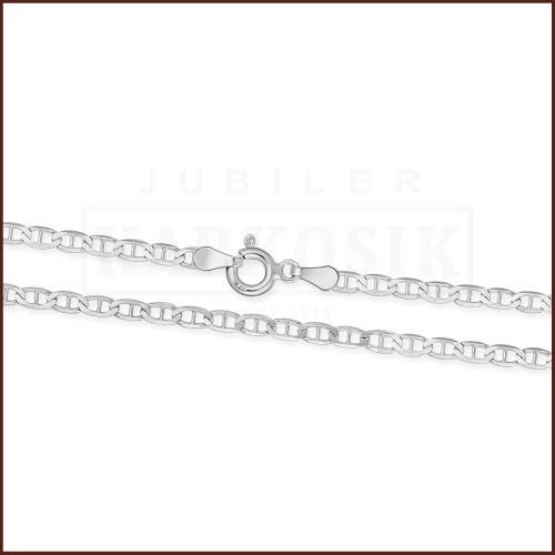 Srebrny Łańcuszek Gucci 55cm pr. 925