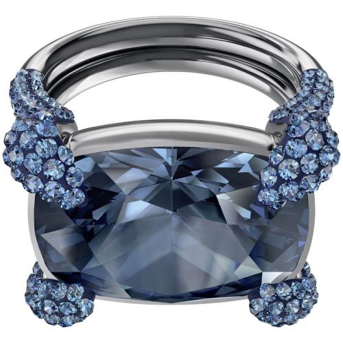 Pierścionek SWAROVSKI - Make up Cocktail Ring, Blue 5448889 58