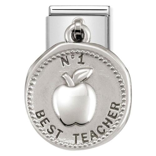Nomination - Link 925 Silver 'Charms Najlepszy Nauczyciel' 331804/20