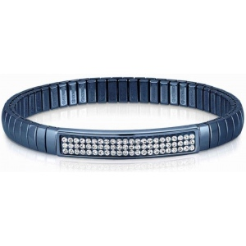 Bransoletka Nomination Extension BLUE - Białe Kryształy 043216/010