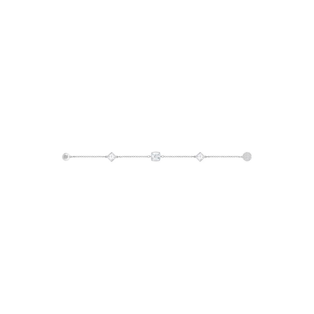 Bransoletka SWAROVSKI - Remix Collection Crystal Spike White, Rhodium 5365757