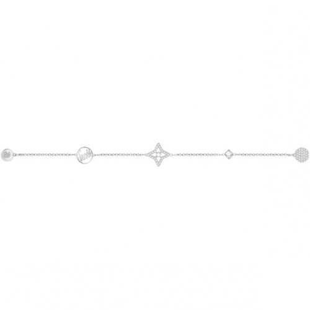 Bransoletka SWAROVSKI -  Remix Collection Star, White 5365752