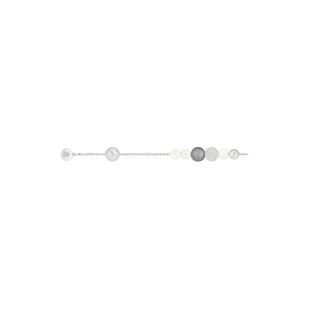 Bransoletka SWAROVSKI - Remix Collection Mixed Gray 5365739