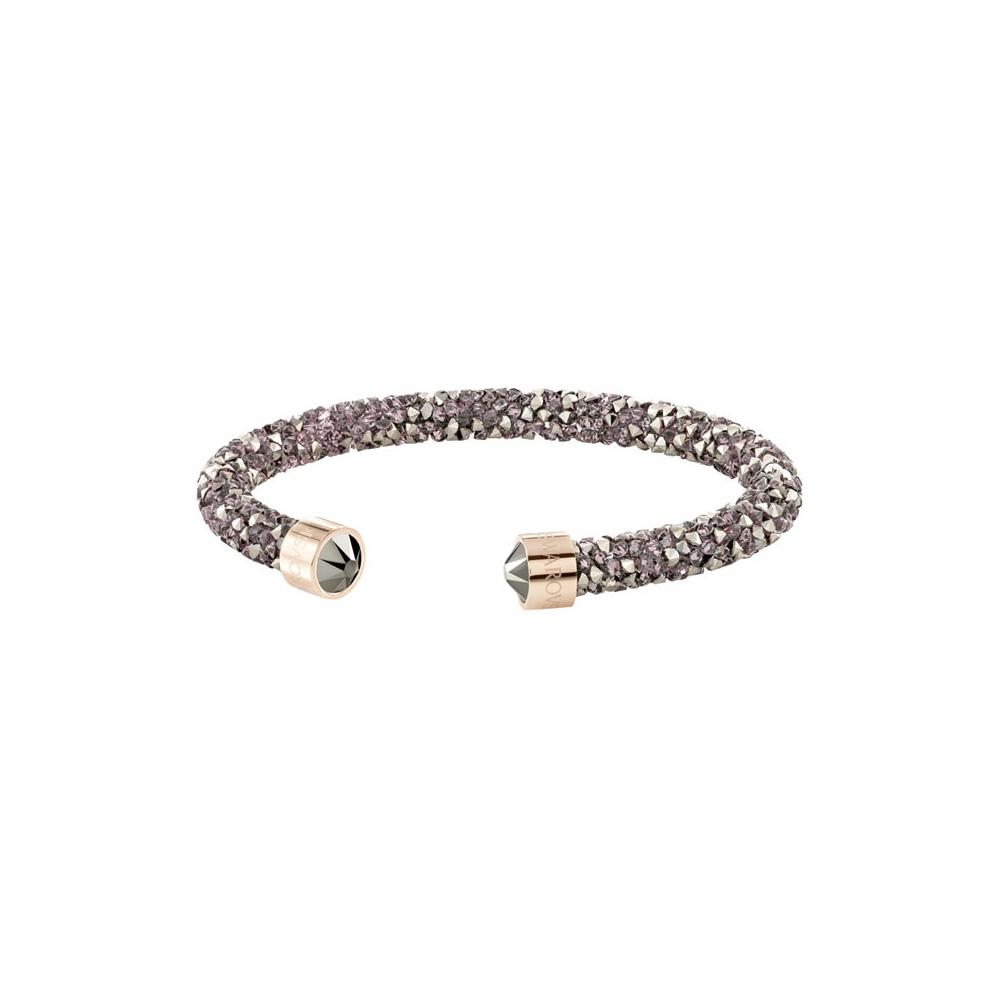 Bransoletka SWAROVSKI - Crystaldust Cuff, Multi Rose Gold 5348098 M