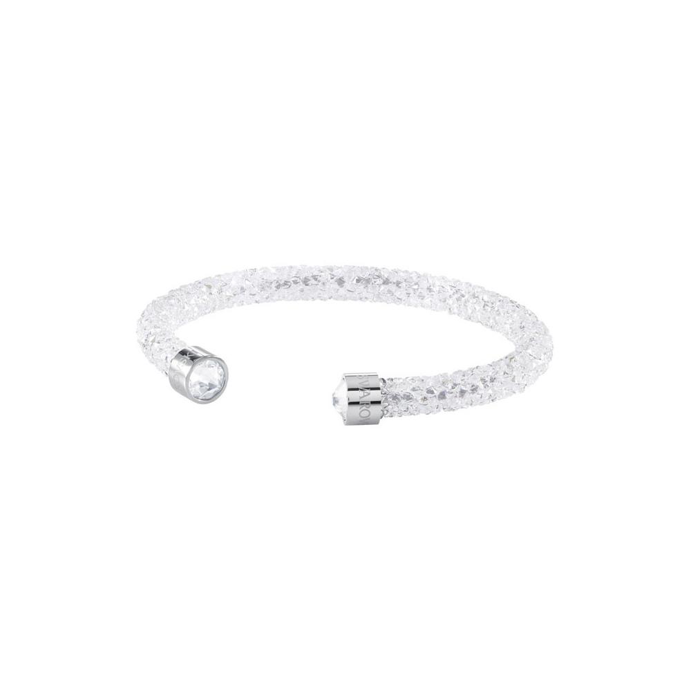 Bransoletka SWAROVSKI - Crystaldust Cuff, White 5255899
