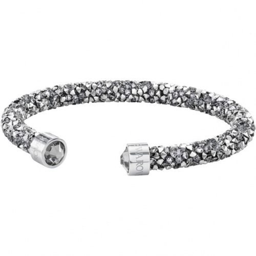 Bransoletka SWAROVSKI - Crystaldust Cuff, Gray 5250071