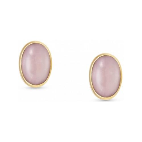 Kolczyki Nomination Gold - Różowy Opal 027840/024
