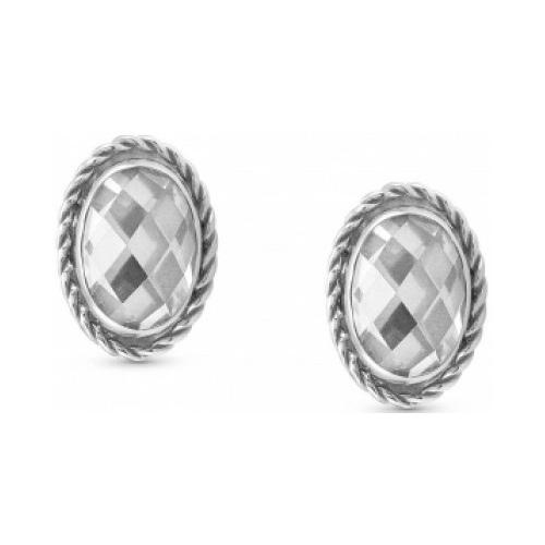 Kolczyki Nomination Silver - Biała Cyrkonia 027801/010