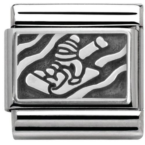 Nomination - Link 925 Silver 'Saneczkarz' 330102/24