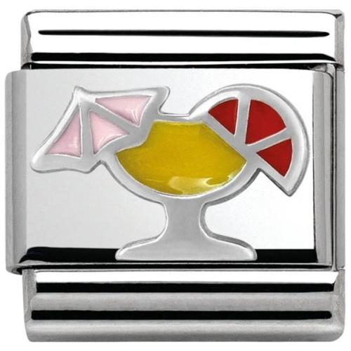 Nomination - Link 925 Silver 'Koktajl' 330202/26