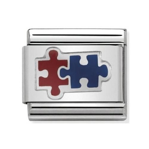 Nomination - Link 925 Silver 'Puzzle' 330202/37