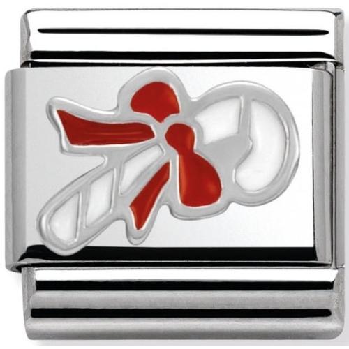 Nomination - Link 925 Silver 'Świąteczny cukierek' 330204/07