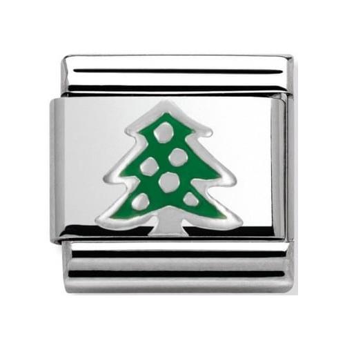 Nomination - Link 925 Silver 'Choinka' 330204/08