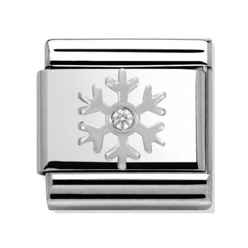 Nomination - Link 925 Silver 'Płatek śniegu' 330313/02