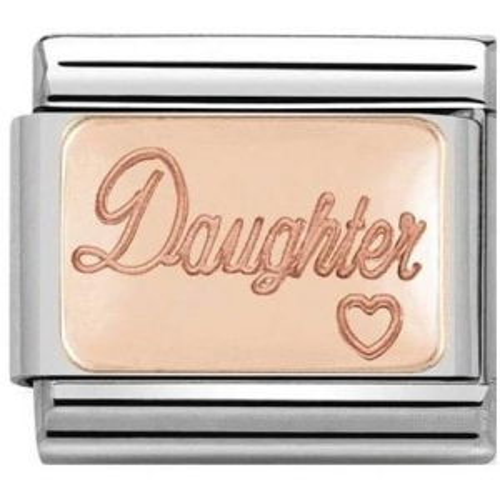 Nomination - Link Rose Gold 'Daughter' 430101/43