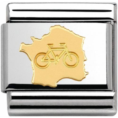 Nomination - Link 18K Gold 'Rower' 030145/16