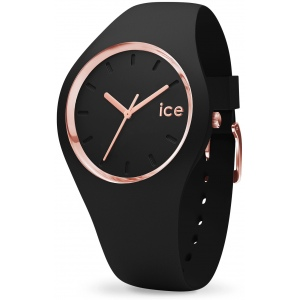 Ice-Watch 000980 Ice Glam Black Rose-Gold M