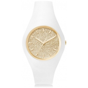 Ice-Watch 001352 Ice Glitter White Gold M