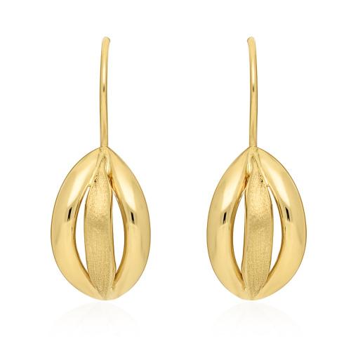 Złote kolczyki - pr.585