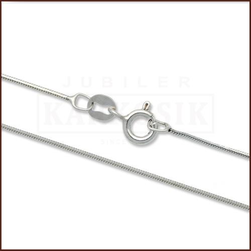 Srebrny łańcuszek - Żmijka 55cm pr.925