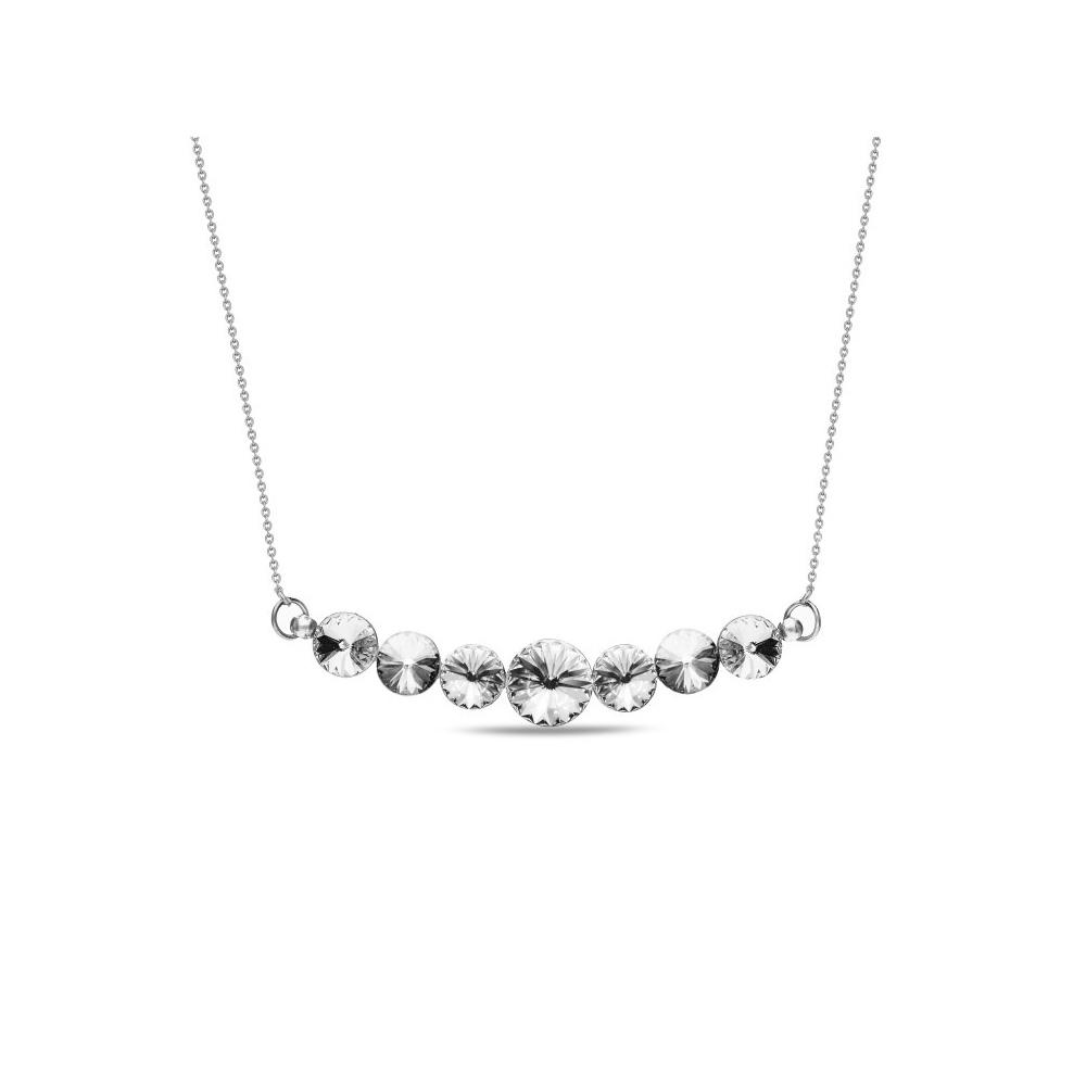 Spark Naszyjnik Smile Crystal NKM11225C
