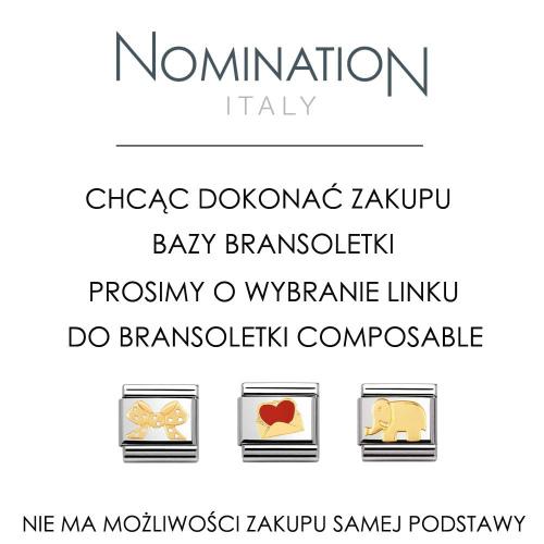 Nomination - Baza bransoletki 030001/011-18