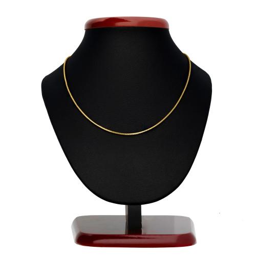 Złoty łańcuszek - Żmijka 50cm pr.585