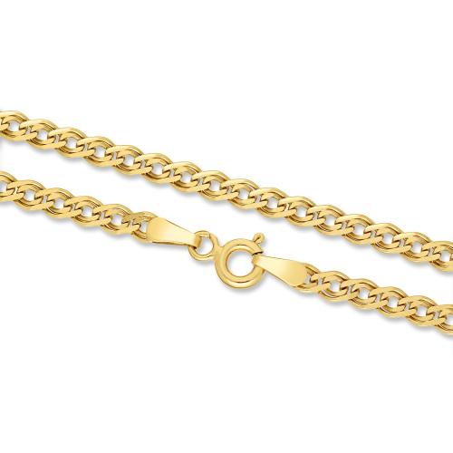 Złoty Łańcuszek Nonna 45cm pr. 585