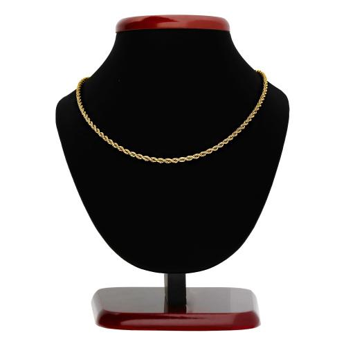 Złoty Łańcuszek Kordel 50cm pr. 585