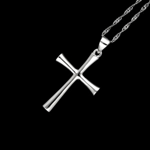 Srebrna zawieszka - Krzyżyk pr.925