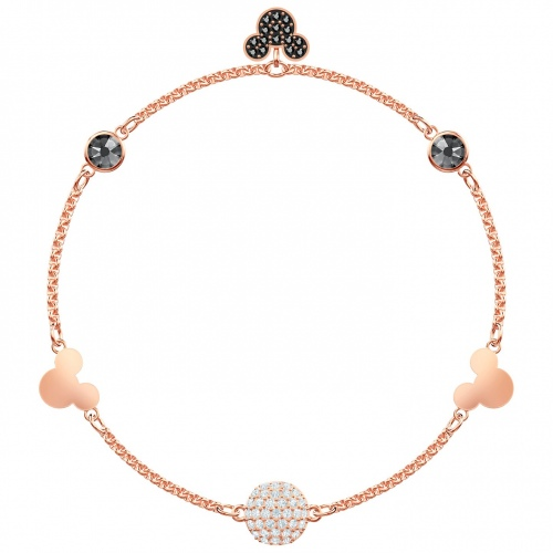 SWAROVSKI - Remix Collection Mickey Strand, Multi-colored, Rose gold 5470623 L