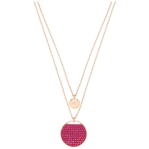 Naszyjnik SWAROVSKI - Ginger, Pink, Rose gold 5472448