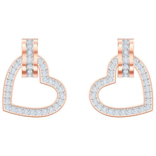 Kolczyki SWAROVSKI - Lovely Pierced, Rose gold 5466720