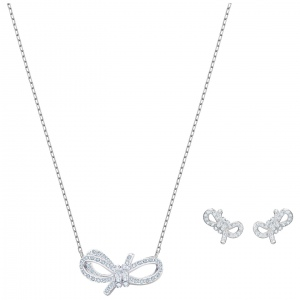Zestaw SWAROVSKI - Lifelong Bow, White 5470594
